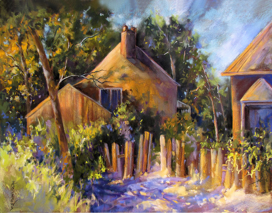 Shadows Painting - Sun Kissed Welcome by Rae Andrews