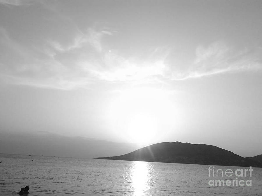 Sun Light Photograph - Sun Light In Black by Katerina Kostaki