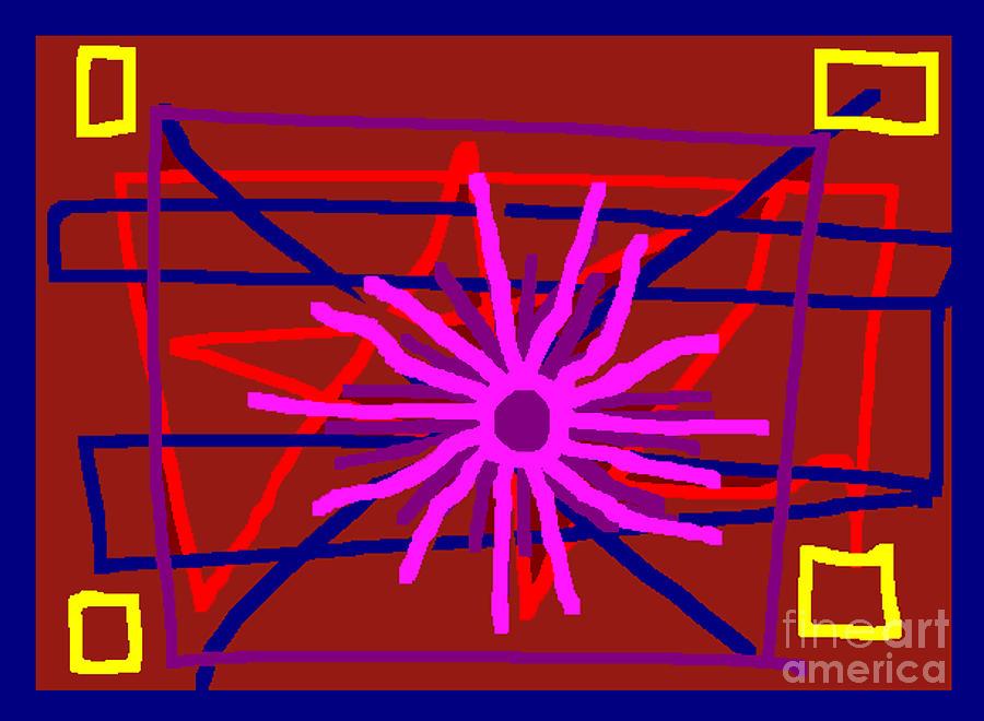 sun Digital Art by Meenal C
