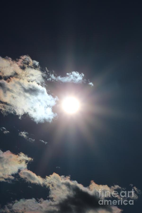 Sun Photograph - Sun Ray 2 by Brenda Henley