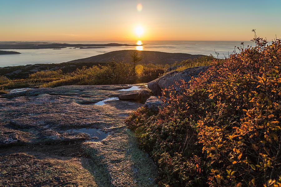 Sun Rise Shock Photograph by Kristopher Schoenleber
