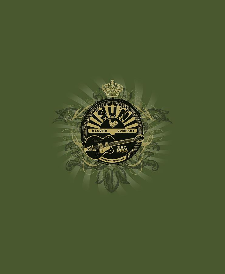Sun Record Company Digital Art - Sun - Rock Heraldry by Brand A