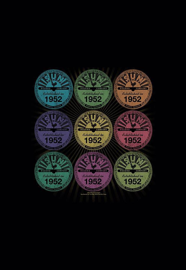 Sun Record Company Digital Art - Sun - Rocking Color Block by Brand A