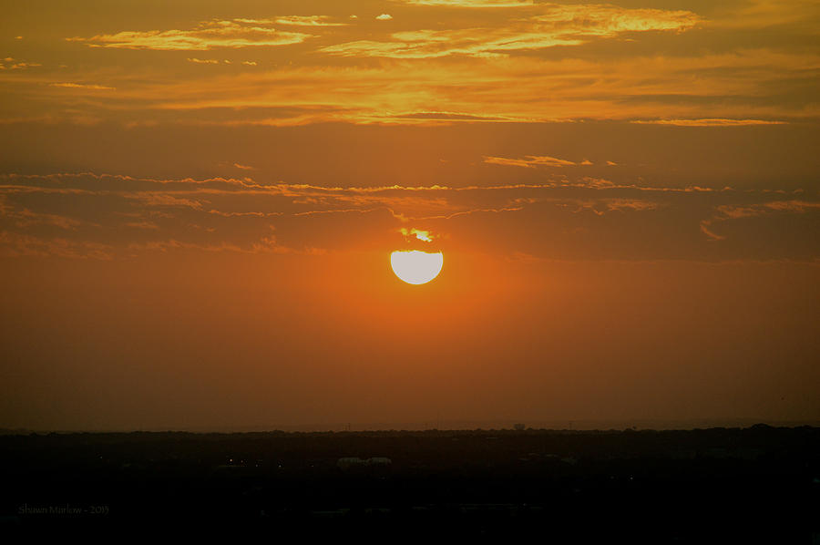 Architecture Photograph - Sun Set Over Sa by Shawn Marlow