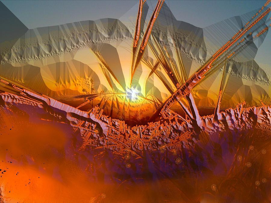 Abstract Photograph - Sun Set by Vagik Iskandar