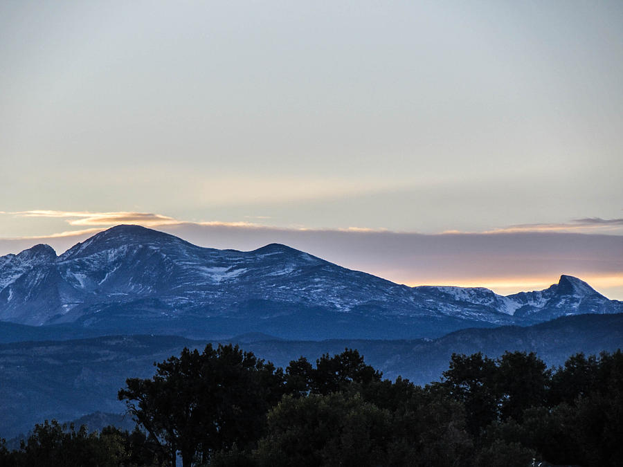 Mountains Photograph - Sun Setting Behind The Mountains by Michael Putthoff