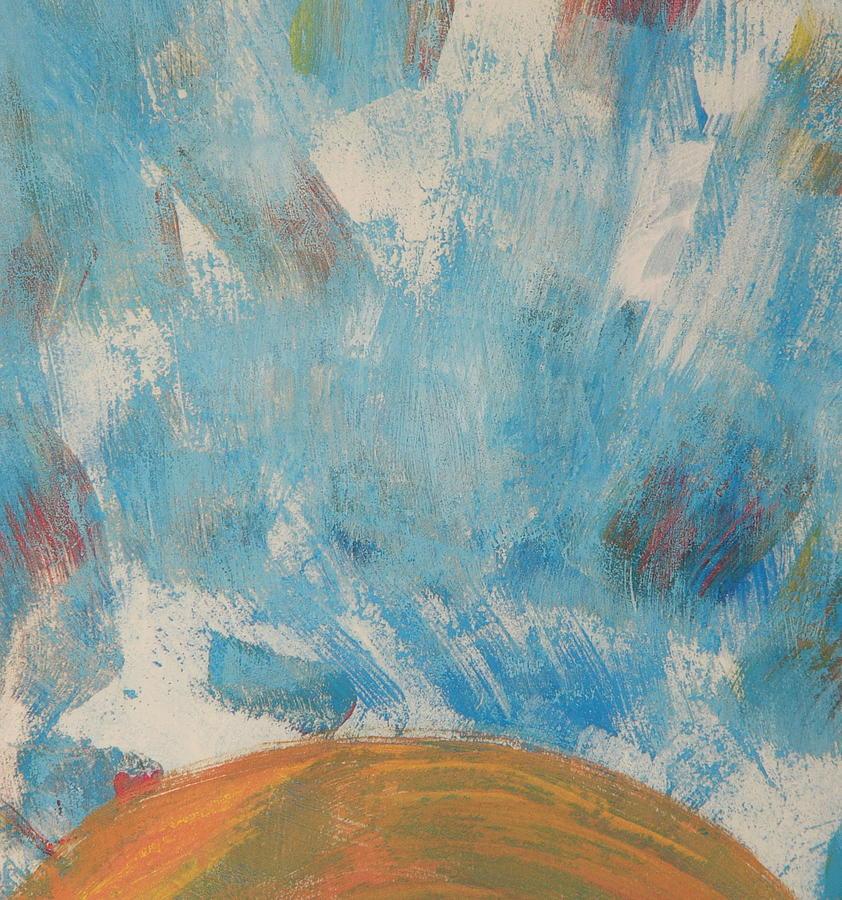Sun Painting - Sun Seven by Valerie Lynch