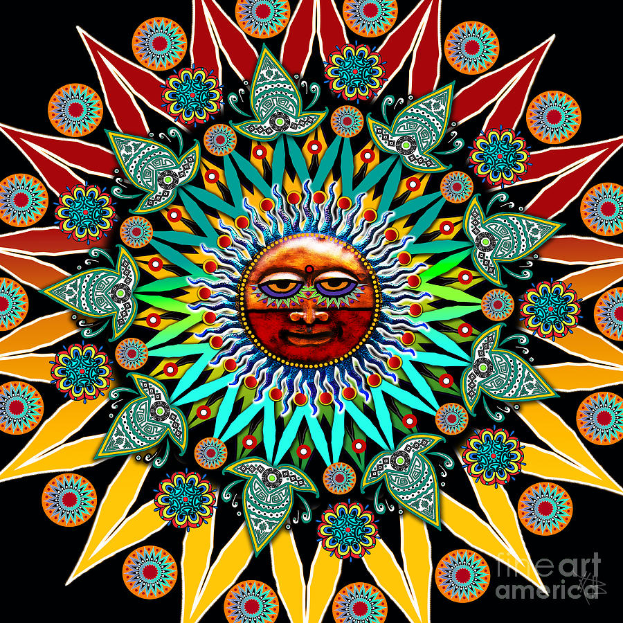 Sun Shaman by Christopher Beikmann