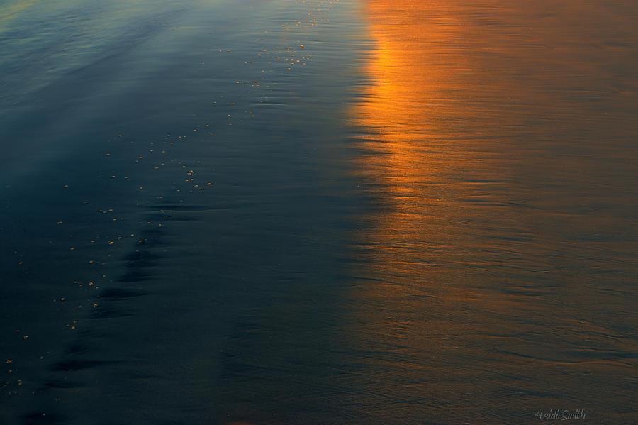 Abstract Photograph - Sun Soaked Beach by Heidi Smith