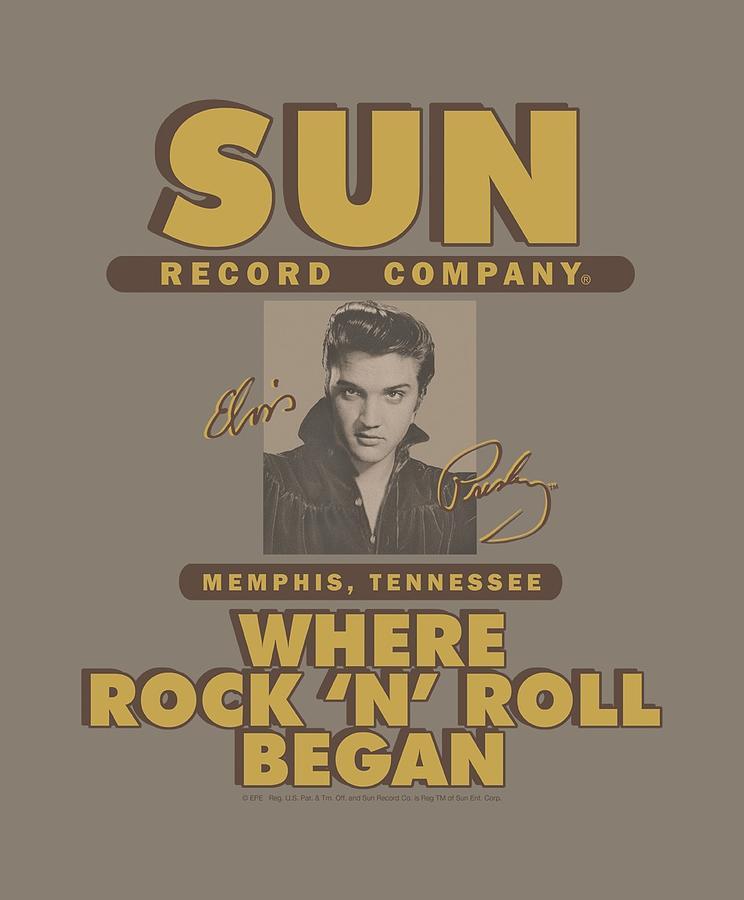 Sun Record Company Digital Art - Sun - Sun Ad by Brand A