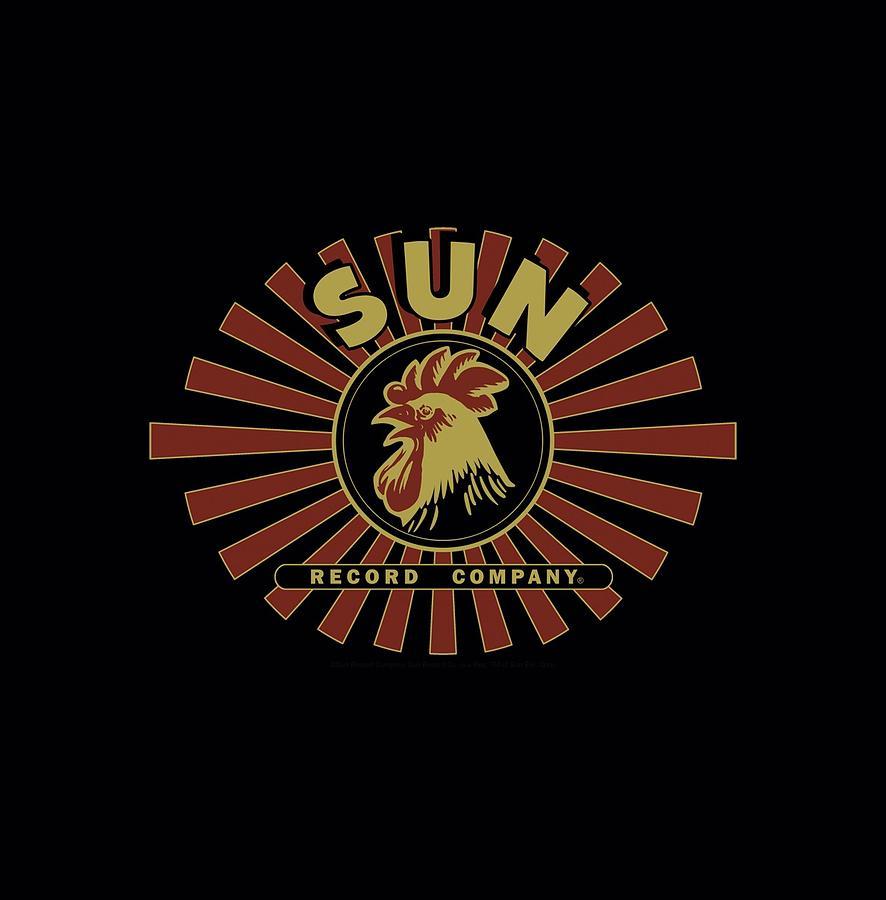 Sun Record Company Digital Art - Sun - Sun Ray Rooster by Brand A