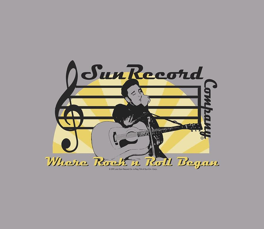 Sun Record Company Digital Art - Sun - Sun Record Company by Brand A