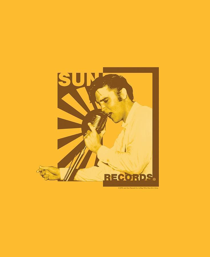 Sun Record Company Digital Art - Sun - Sun Records Slvis On The Mic by Brand A