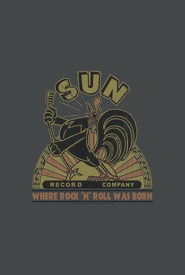 Sun Record Company Digital Art - Sun - Sun Rooster by Brand A