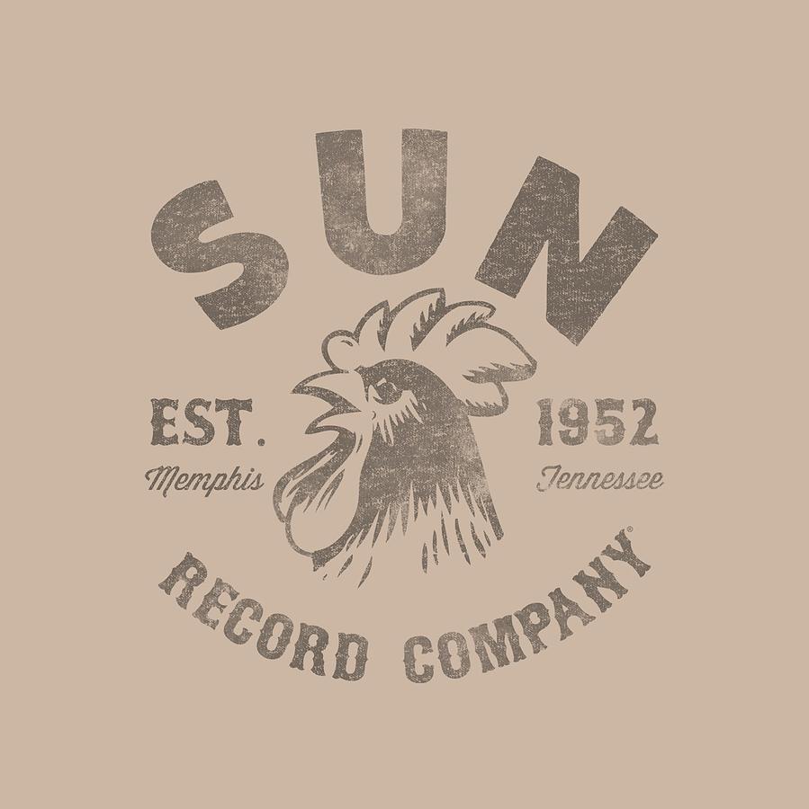 Sun Record Company Digital Art - Sun - Vintage Logo by Brand A