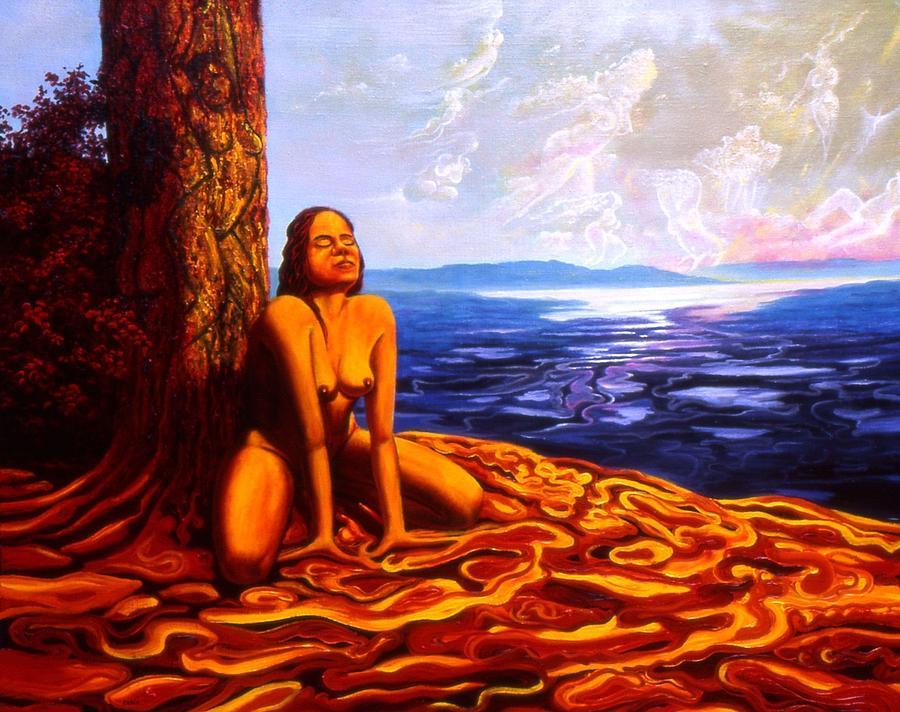 Genio Painting - Sun Woman by Genio GgXpress