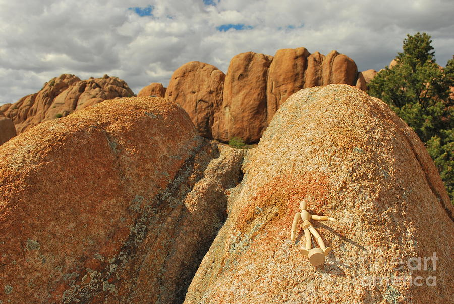Granite Photograph - Sunbathing In The Raw by Heather Kirk