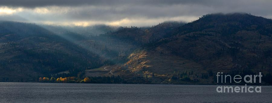 Okanagan Photograph - Sunbeams On The Mission I by Phil Dionne