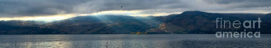 Okanagan Photograph - Sunbeams On The Mission Iv by Phil Dionne