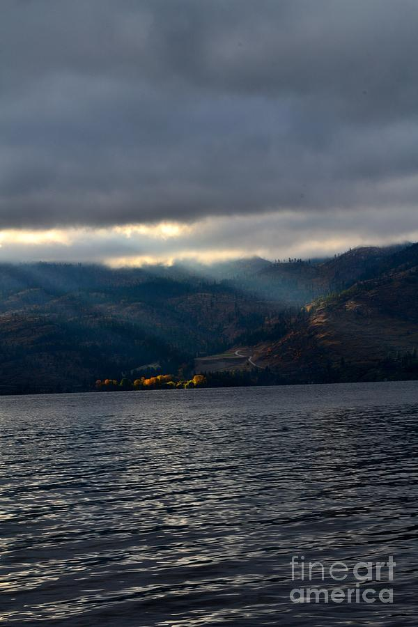 Okanagan Photograph - Sunbeams On The Mission  by Phil Dionne