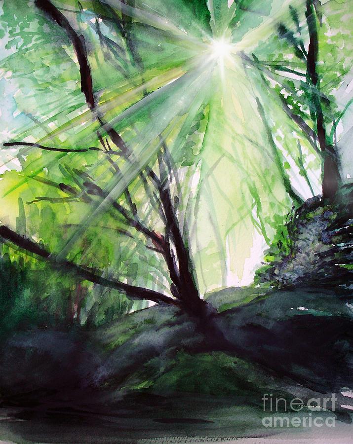 Sunbeans Of Grace Painting