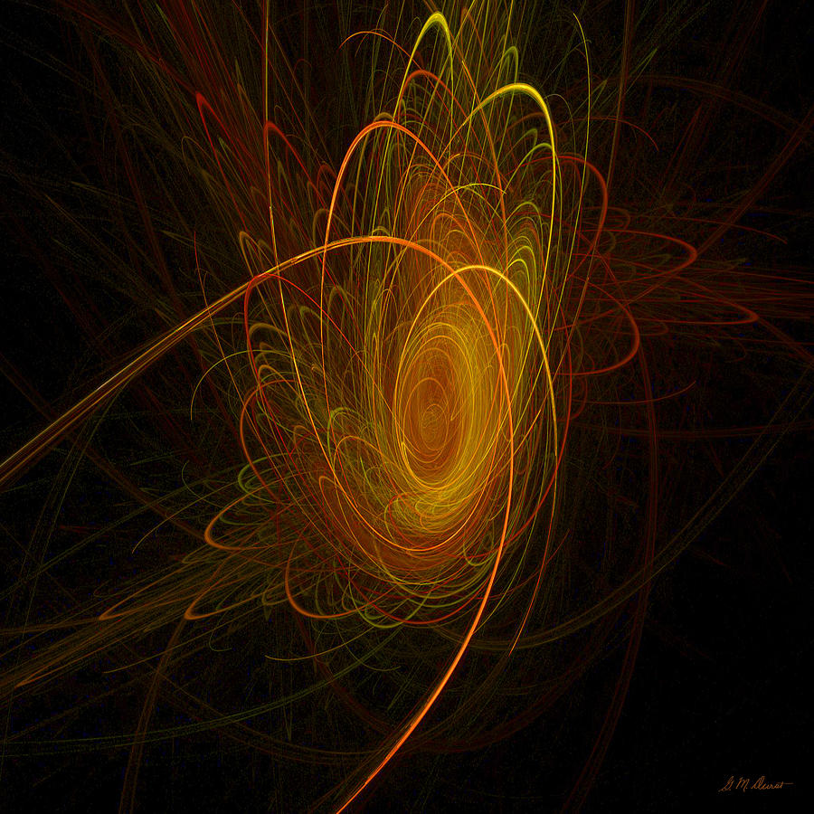 Digital Digital Art - Sunburst by Michael Durst