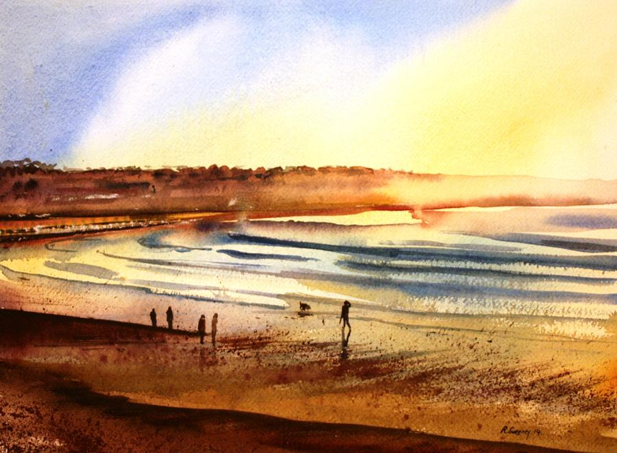 Sunday Afternoon Painting by Rob Sweeney