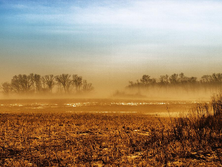 Landscape Photograph - Sunday Afternoon by Tom Druin