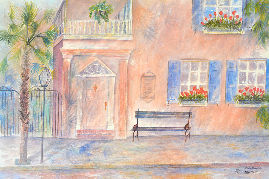 Sunday Morning in Charleston Painting by Ben Kiger