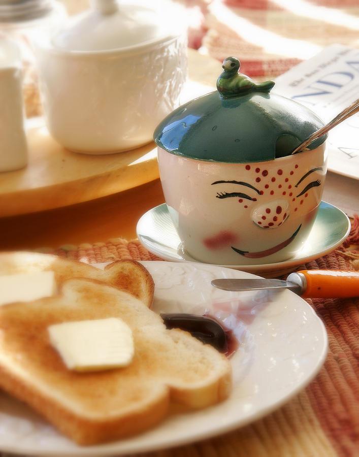 Sunday Morning Jelly Jar Photograph