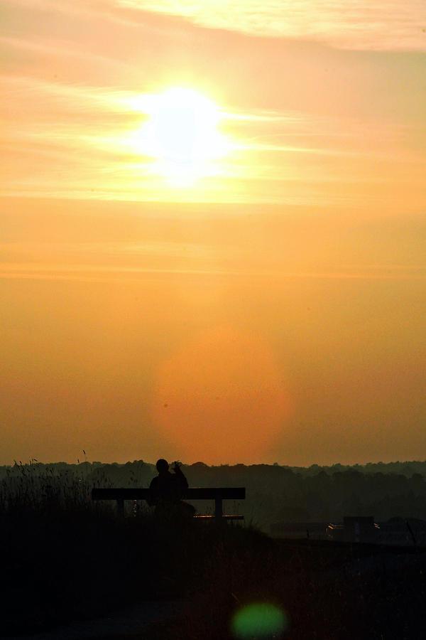 Sunset Photograph - Sunday Sunset by Pedro Fernandez