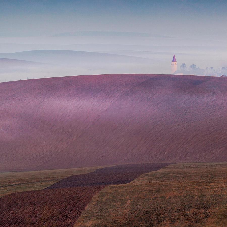 Purple Photograph - Sundays Silence by Peter Svoboda, Mqep