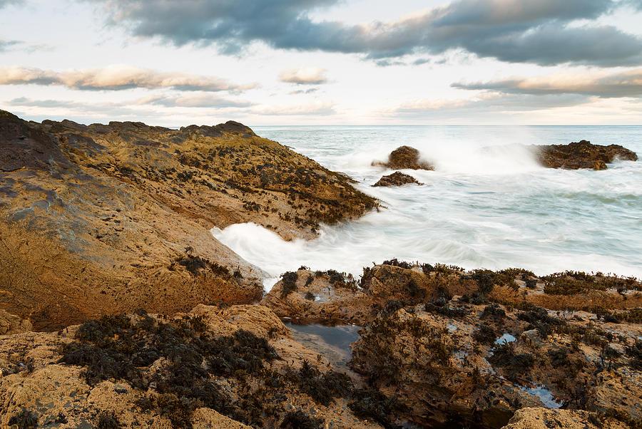 Aberdeen Photograph - Sundown At Portlethen by Ian Middleton