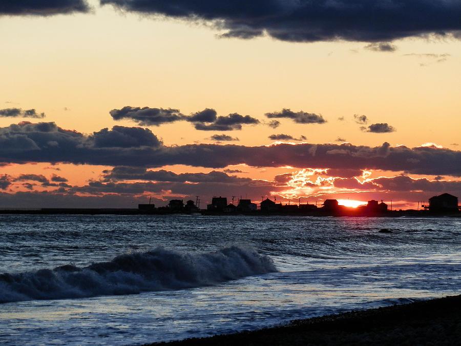 Sunset Photograph - Sundown by Heather Sylvia