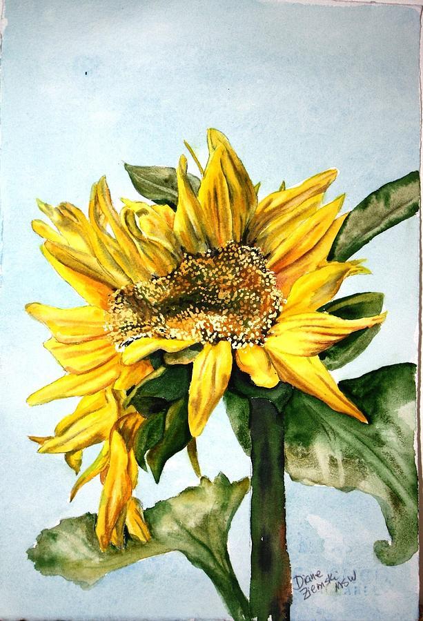 Sunflower 1 by Diane Ziemski
