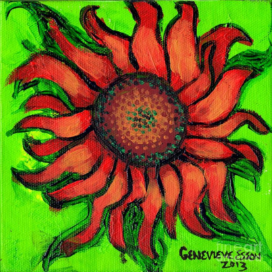 Sunflower 3 Painting