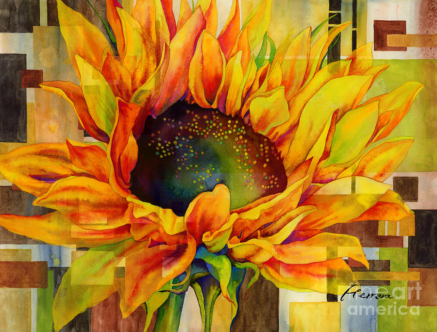 Sunflower Canopy Painting