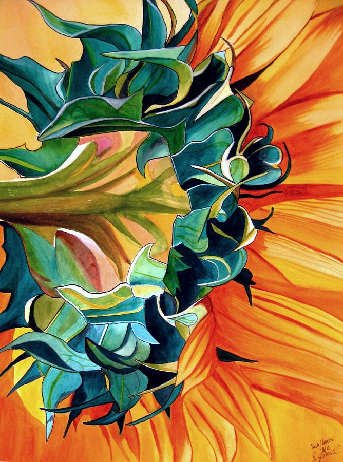 Sunflower Painting - Sunflower by Sacha Grossel