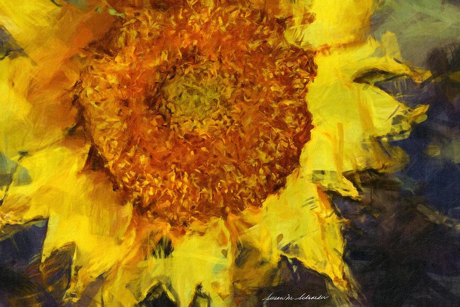 Sunflower by Susan Schroeder