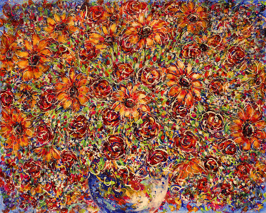 Sunflowers Painting - Sunflowers  by Natalie Holland