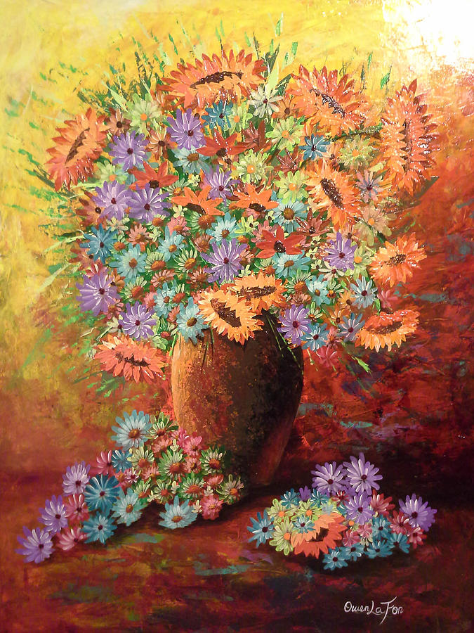 Sunflowers by Owen Lafon