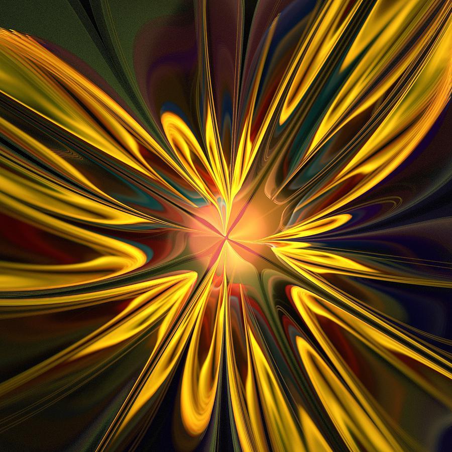 Plant Digital Art - Sunglow by Anastasiya Malakhova