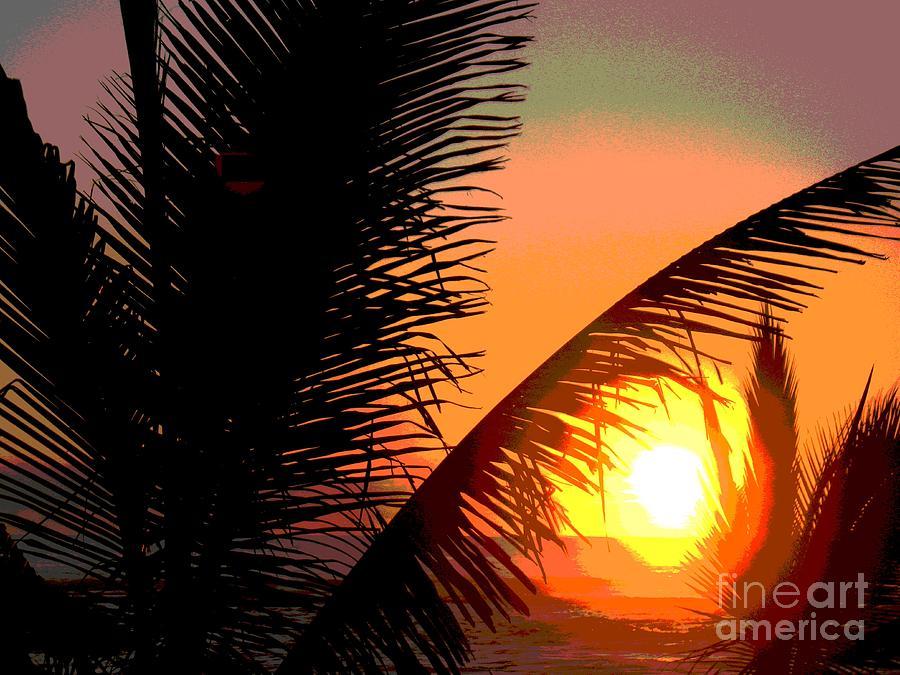 Sunlight - Ile De La Reunion - Reunion Island Photograph by Francoise Leandre