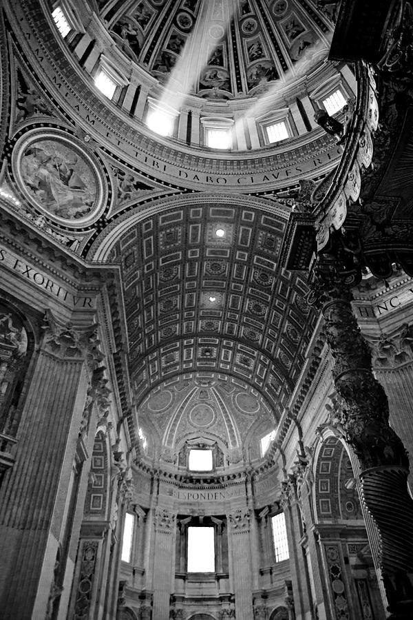 Saint Photograph - Sunlight In St. Peters by Susan Schmitz
