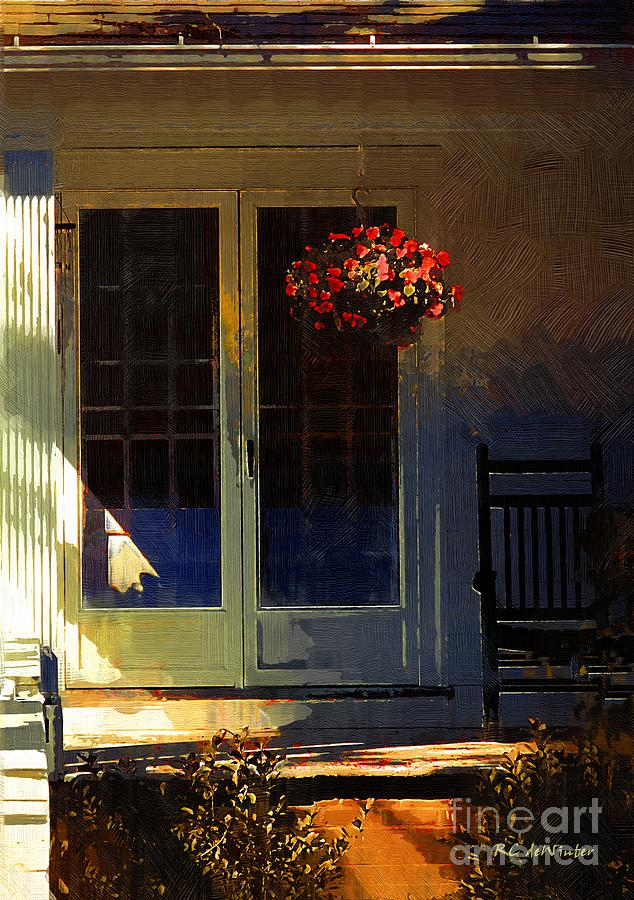 House Painting - Sunlight On Scarlet - New England Autumn by RC DeWinter