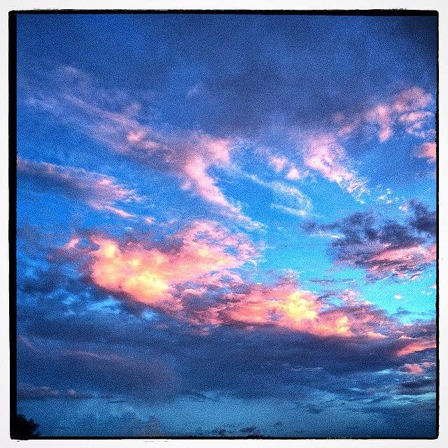Rural Photograph - Sunlit Clouds by Paul Cutright