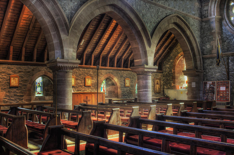 Cathedral Photograph - Sunny Church by Ian Mitchell