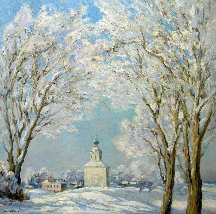 Landscape Painting - Sunny Day by Valery Kosorukov