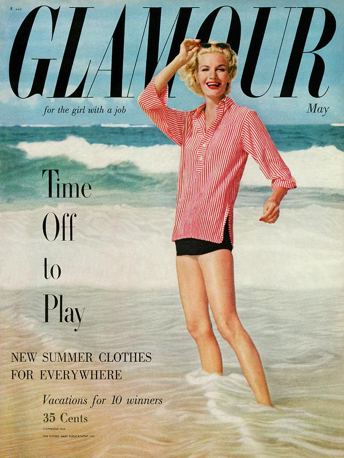 Sunny Harnett On The Cover Of Glamour Photograph by Leombruno-Bodi