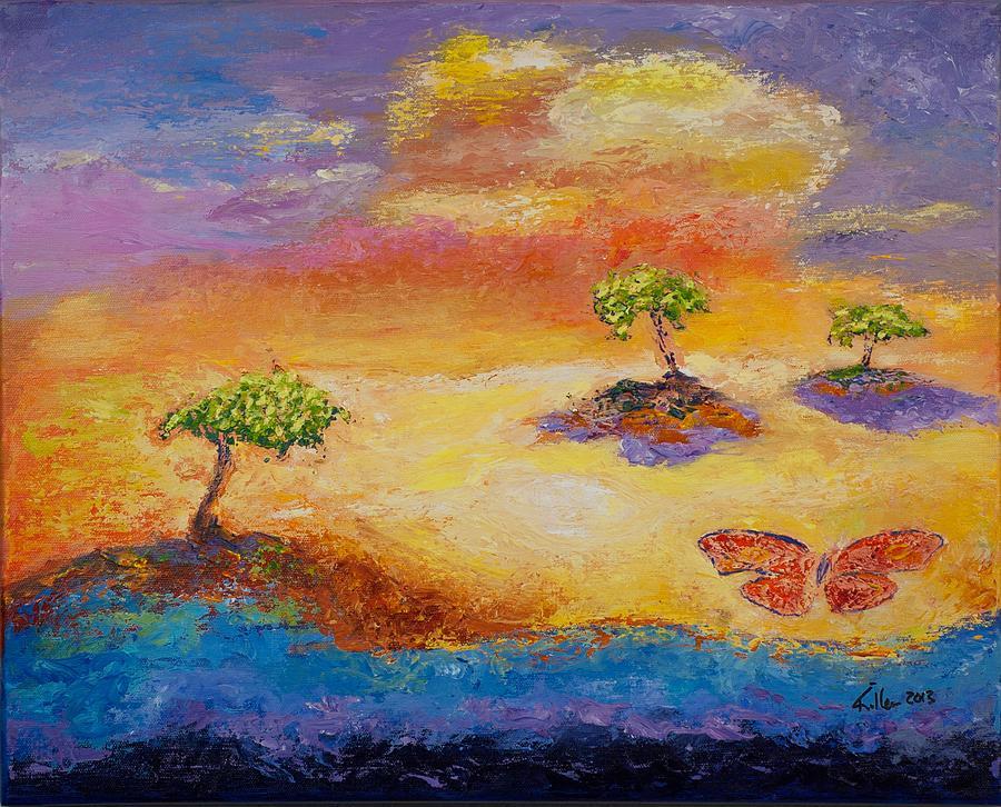 Killen Painting - Sunny Islands by William Killen